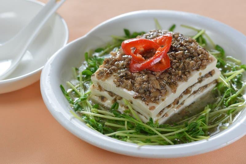 Minced wieprzowiny Tofu obraz stock
