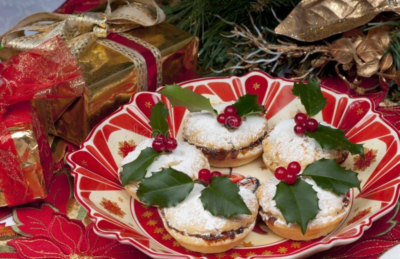 mincepies рождества традиционные стоковое изображение