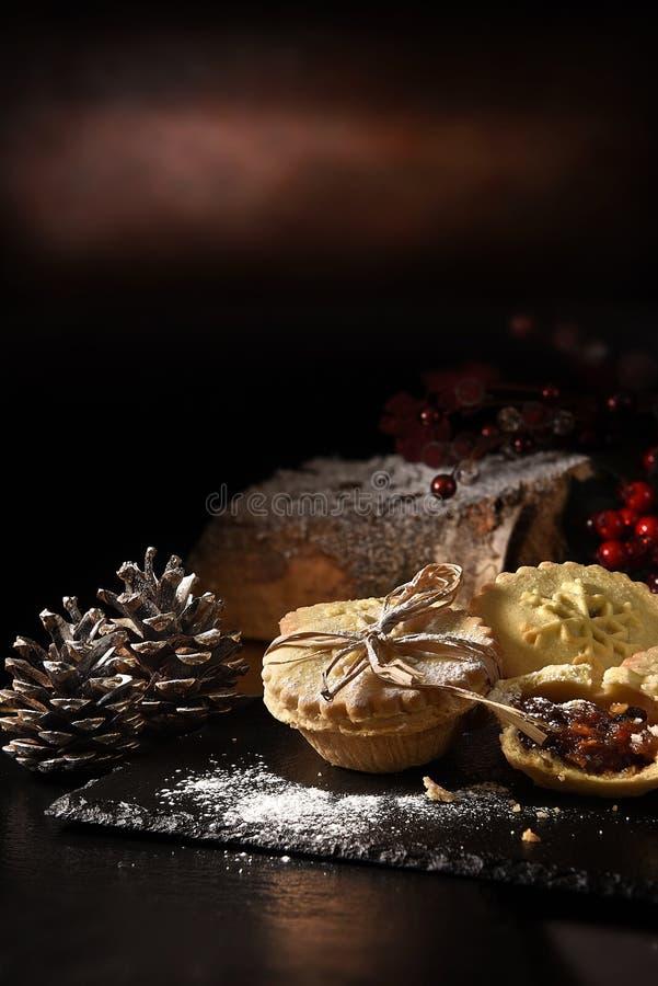 Minces pies de Noël II image libre de droits