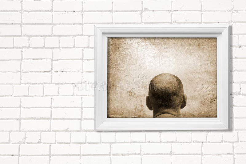 Download Mind stock image. Image of frame, image, person, bald - 6193371