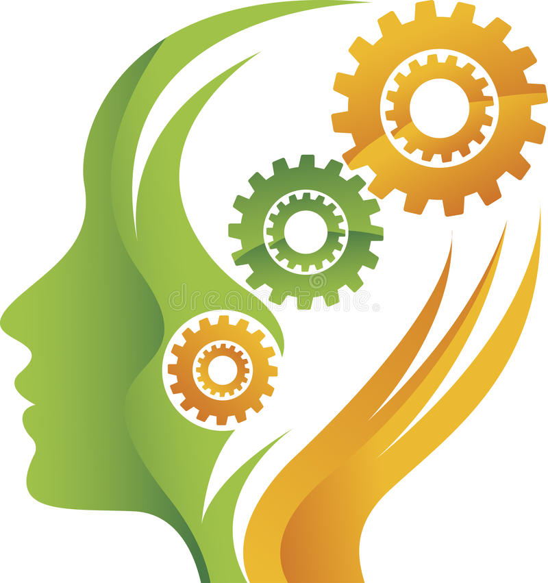 Free Mind Gear Logo Royalty Free Stock Image - 42458626
