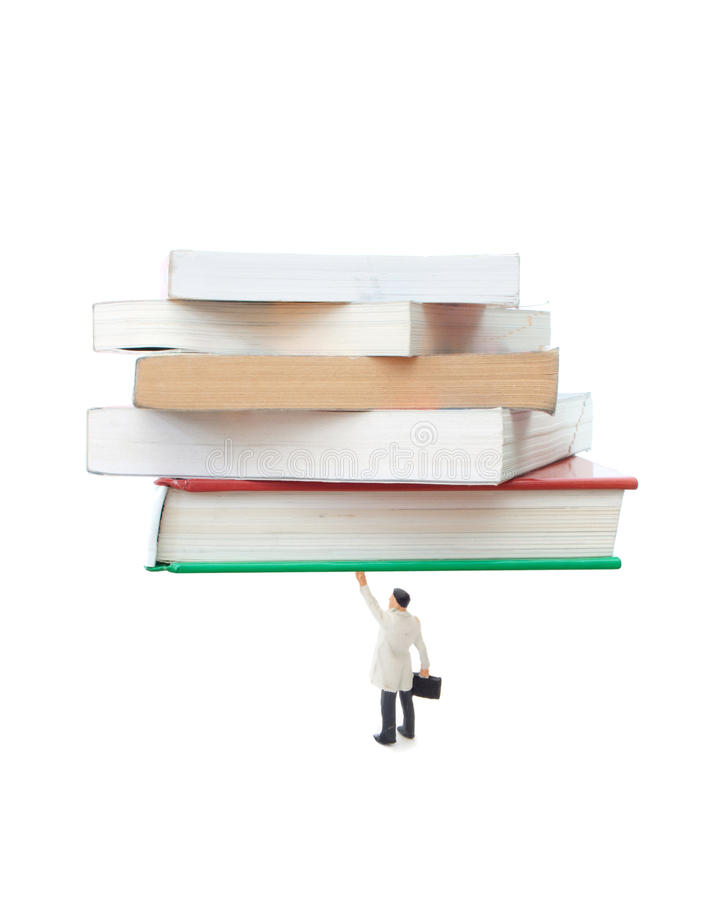 Download Mind over matter stock image. Image of empower, books - 27031975