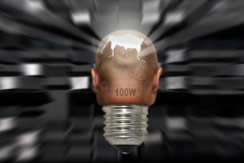 Mind power royalty free stock photography