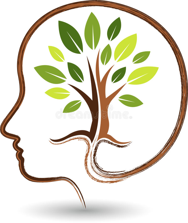 Free Mind Tree Logo Stock Images - 42390544