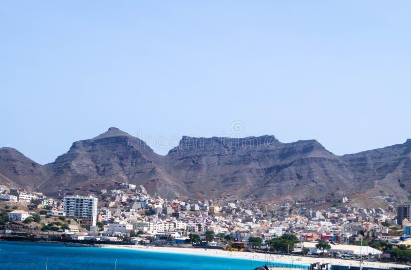 Mindelo - sao Vicente - Cabo Verde imagenes de archivo