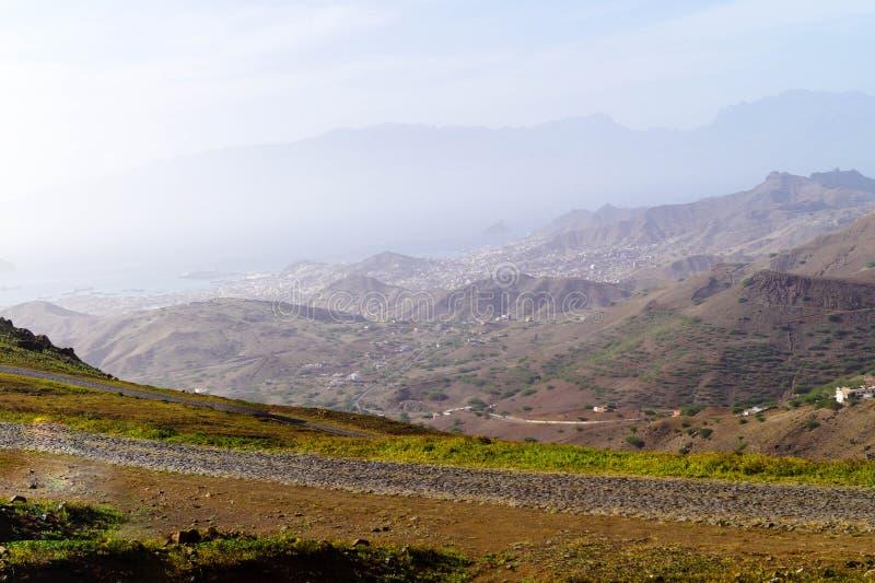 Mindelo - sao Vicente - Cabo Verde fotografía de archivo