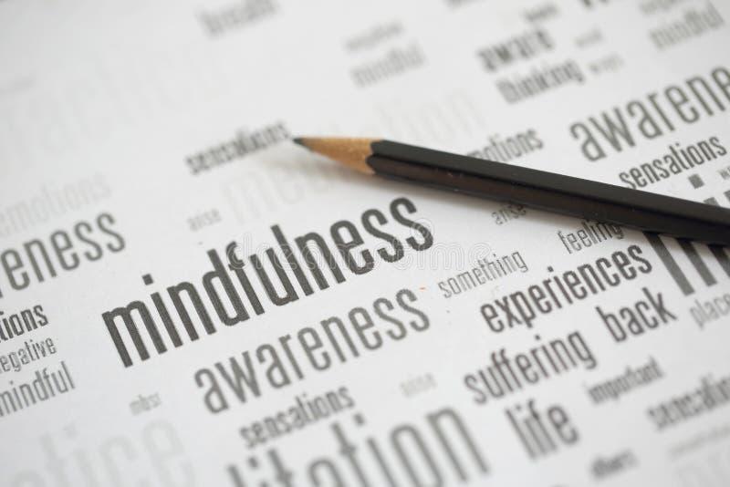 mindfulness immagini stock