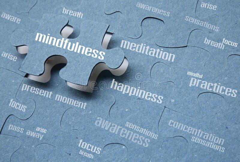 mindfulness lizenzfreie stockfotos