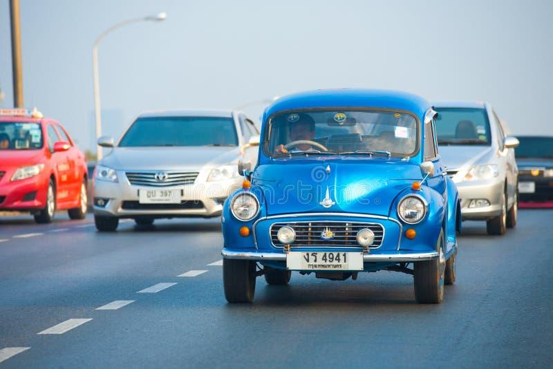 mindre morristappning för bil royaltyfri fotografi