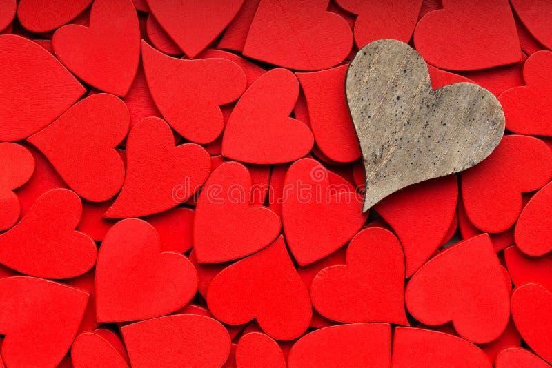 Mindre röd hjärtabakgrund fotografering för bildbyråer