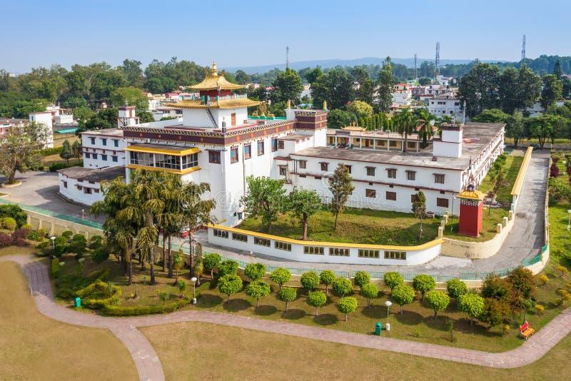 Mindrolling修道院, Dehra Dun 免版税图库摄影