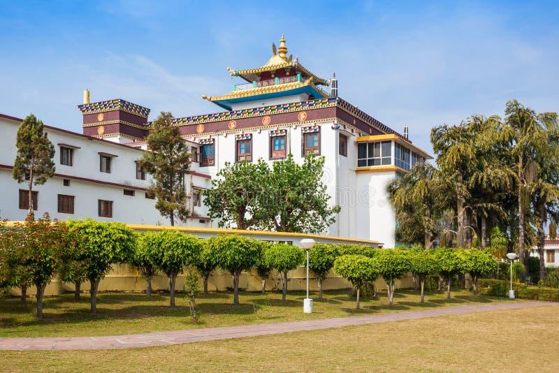 Mindrolling修道院, Dehra Dun 库存照片
