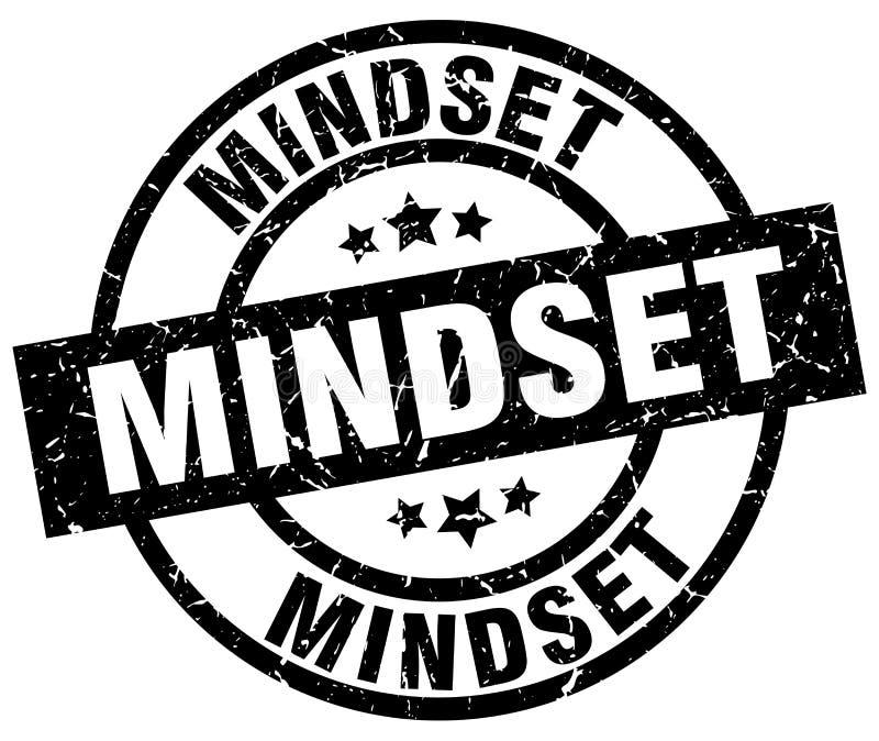 Mindset stamp. Mindset grunge vintage stamp isolated on white background. mindset. sign vector illustration