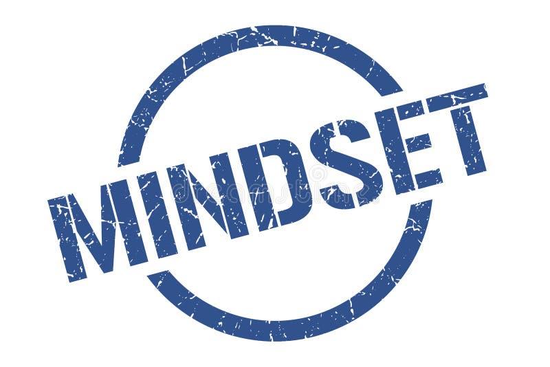 Mindset stamp. Mindset round grunge stamp. mindset sign. mindset stock illustration
