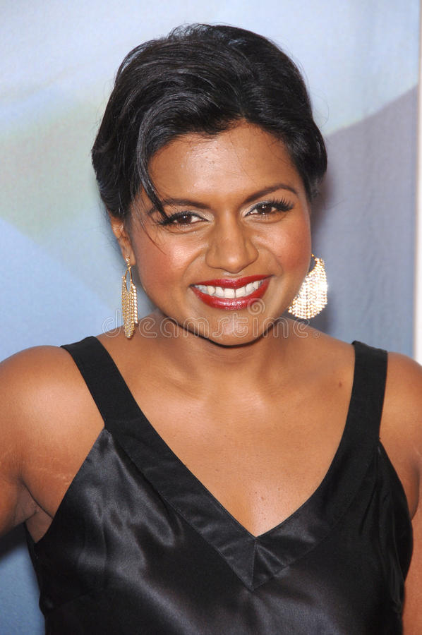 Download Mindy Kaling editorial photo. Image of mindy, february - 24818661
