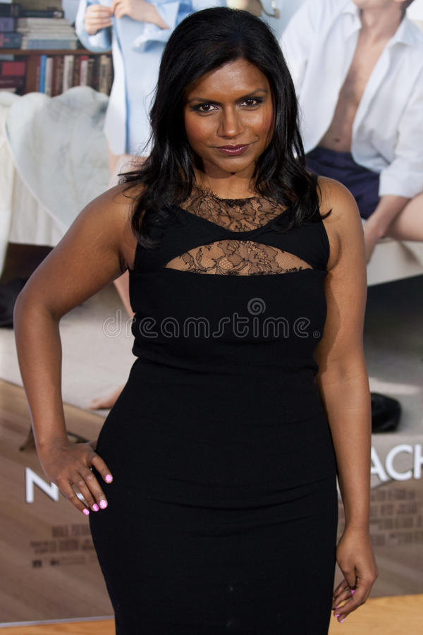 Download Mindy Kaling editorial photography. Image of actor, famous - 26834317