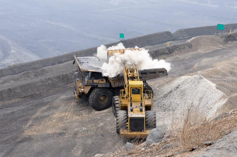 Mine à ciel ouvert photographie stock