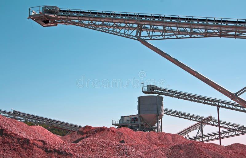 Mine à ciel ouvert de mine image libre de droits