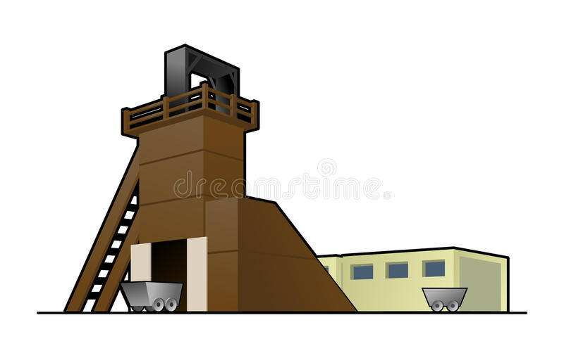 Download Mine stock illustration. Image of production, manufacture - 26017823