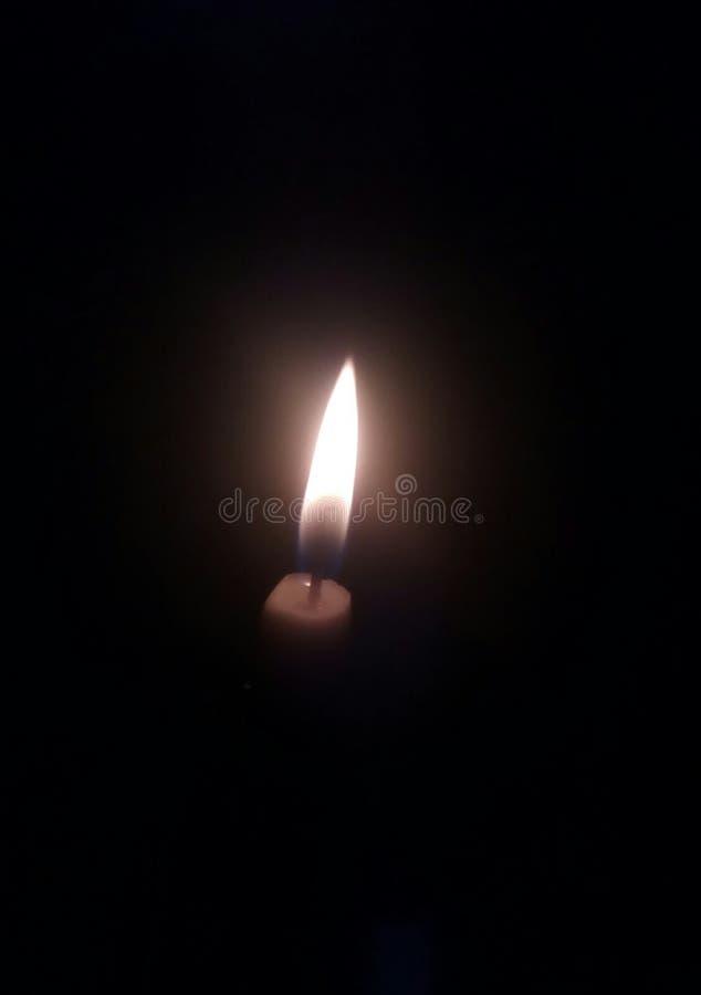 mine candle stock photo