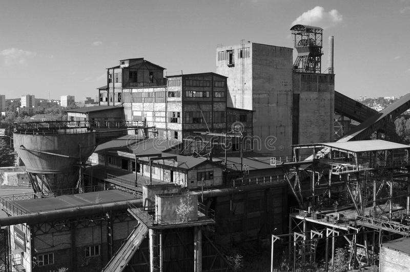Mine complex. A photo of mine complex royalty free stock photos