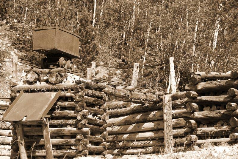 Mine d'or photo libre de droits