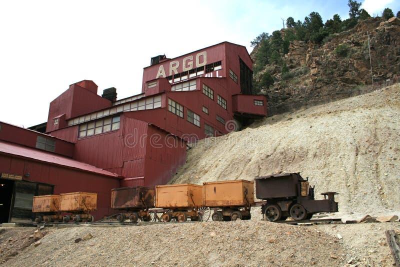 Mine d'or d'Argo photos libres de droits