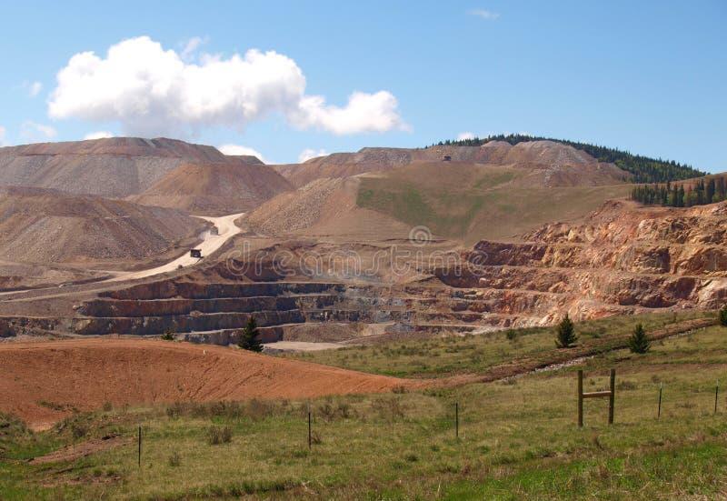 Mine d'or de cc et de V photographie stock