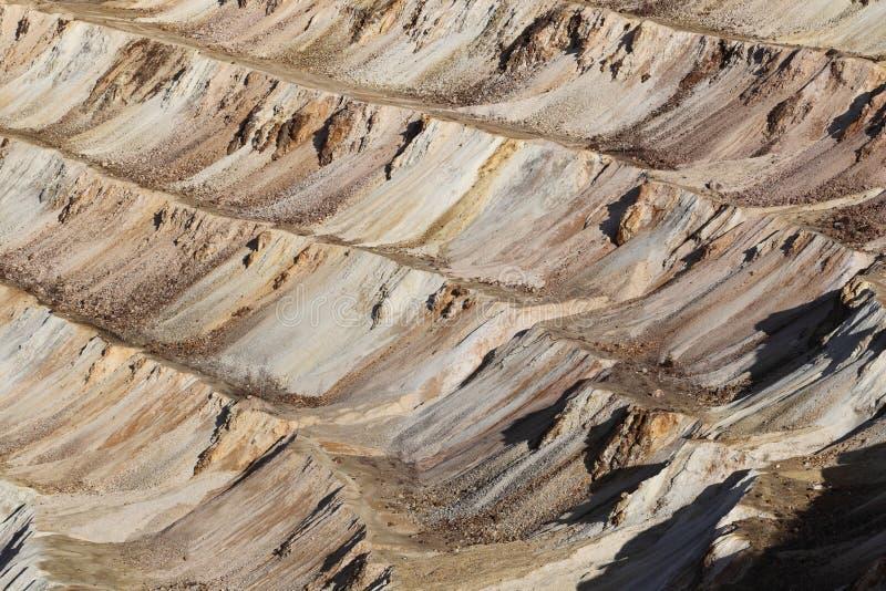 Mine d'or de Rosia Montana, Roumanie images stock