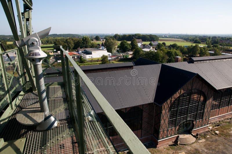 Mine de charbon Zollern - entrée d'Art Nouveau Machine Shop photographie stock libre de droits