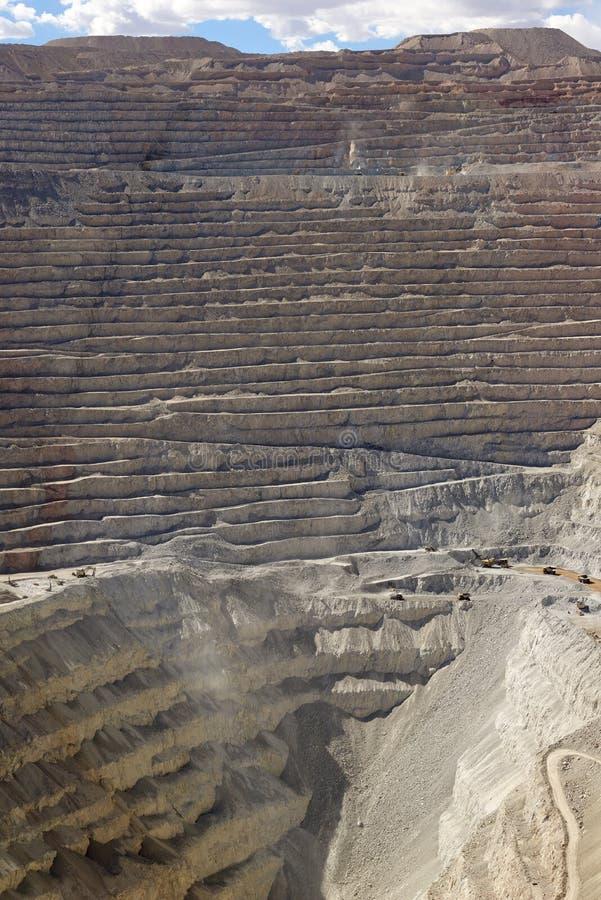 Mine de cuivre photo libre de droits