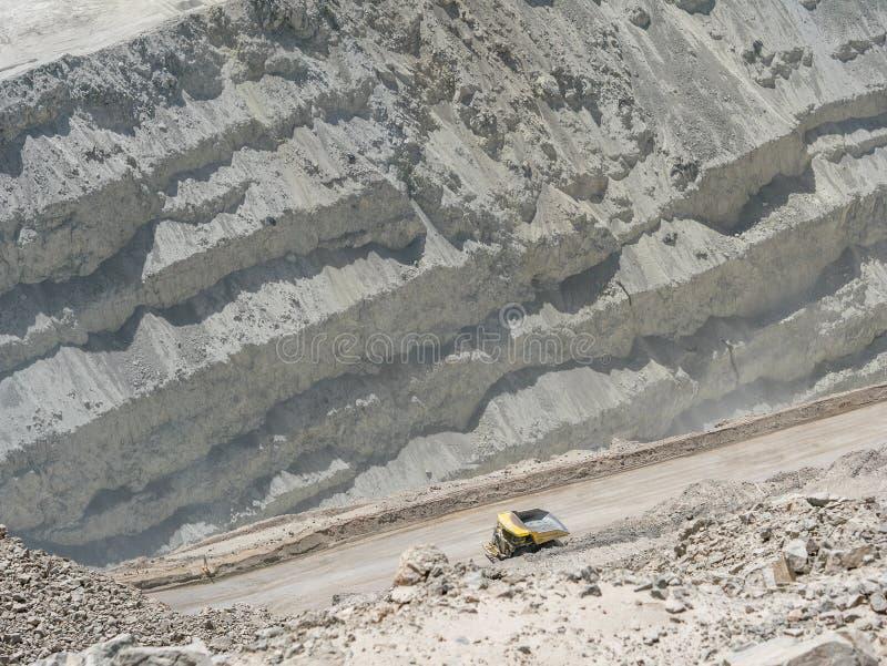 Mine de cuivre au Chili photo libre de droits