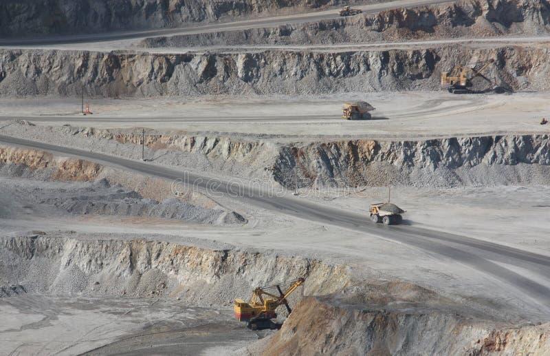 mine 1 de Cuivre-molybdène photo stock