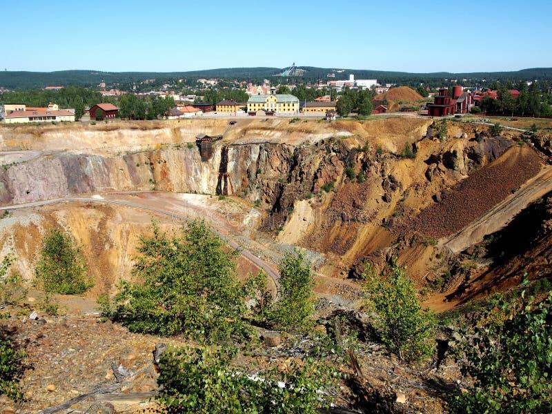Mine de Falun photos stock