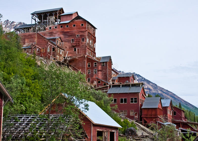 Mine de Kennecott images stock