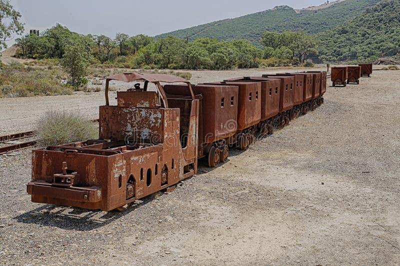 Mine de Montevecchio photos libres de droits