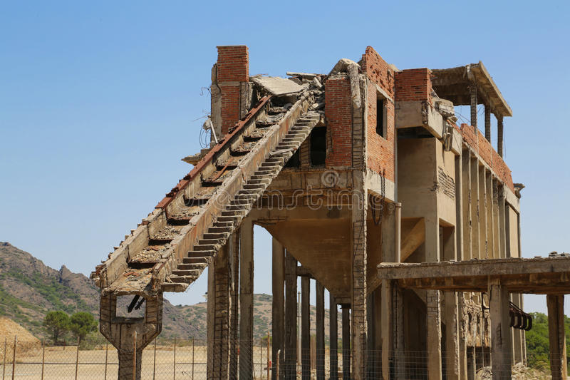 Mine de Montevecchio images libres de droits