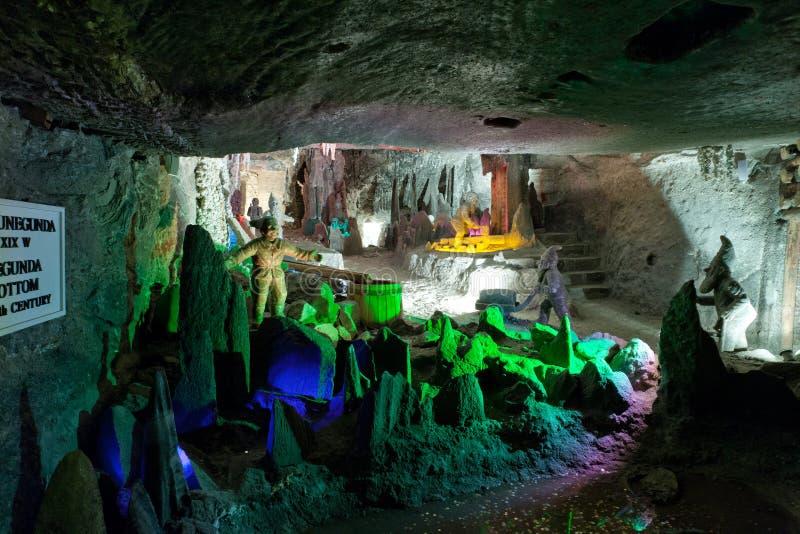 Mine de sel de Wieliczka images libres de droits
