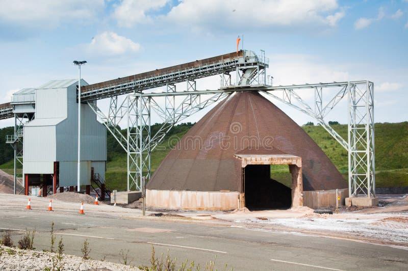 Mine de sel de Winsford photographie stock