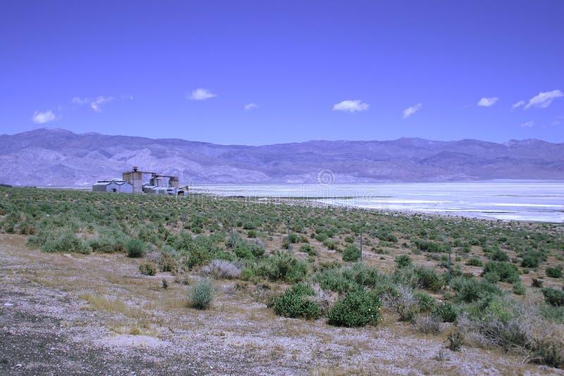 Mine de vallée d'Owens photographie stock libre de droits
