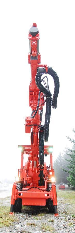 Mine drilling machine royalty free stock image
