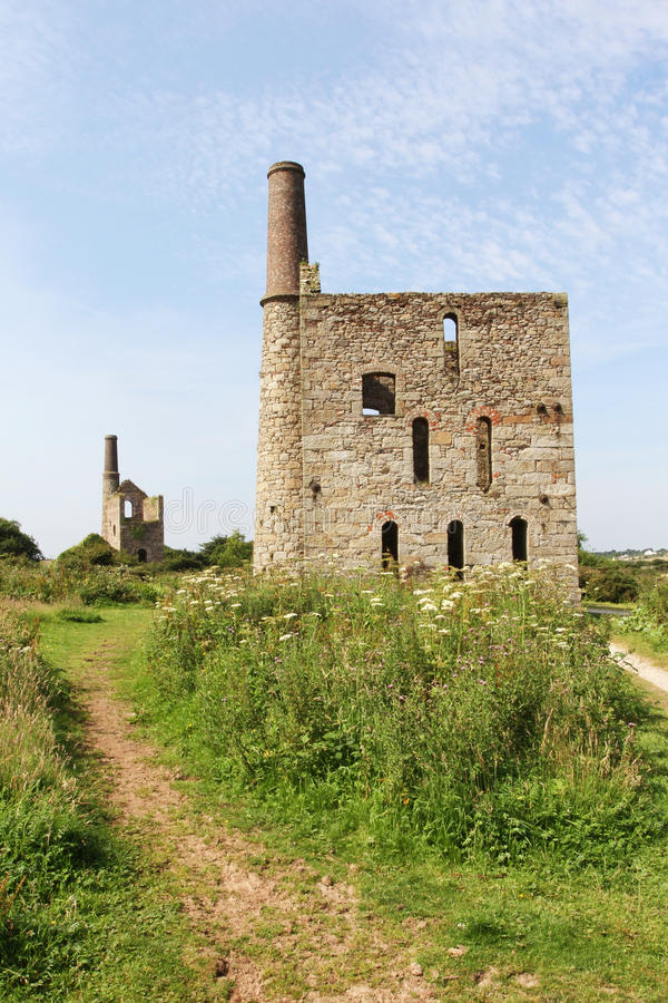 Download Mine ruins stock image. Image of heritage, stack, path - 25935359