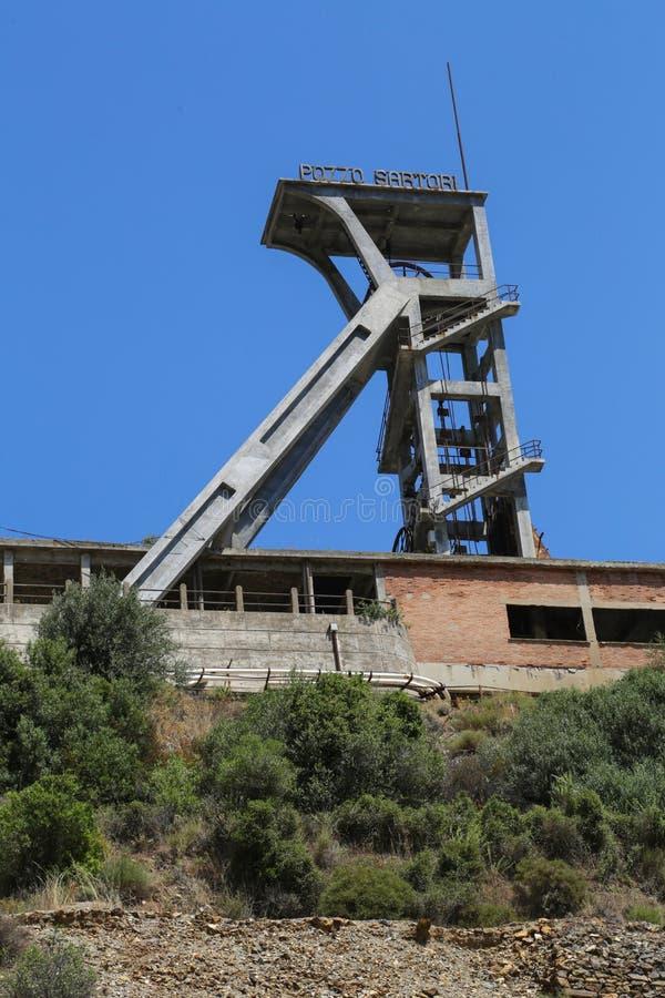 Mine Sardaigne de Montevecchio images stock