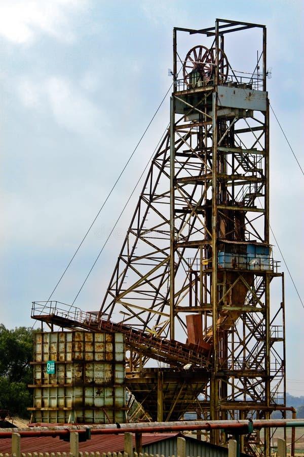 Mine Shaft stock photos
