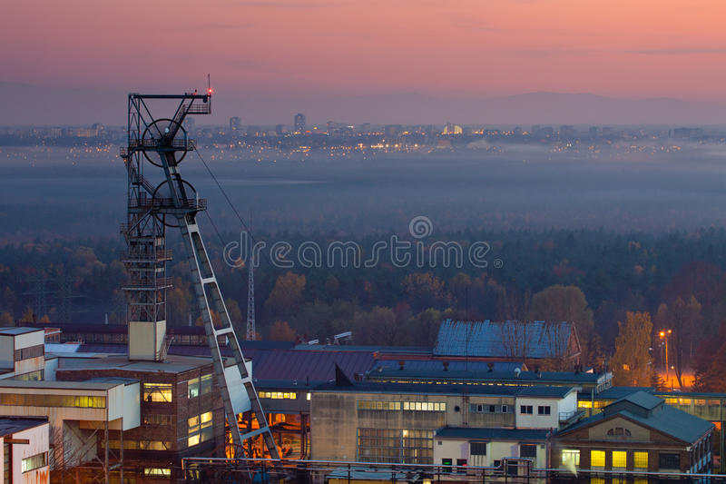 Download Mine shaft stock image. Image of gear, adit, colliery - 16885767
