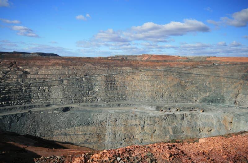 Mine superbe de mine de Kalgoorlie, Australie occidentale photographie stock