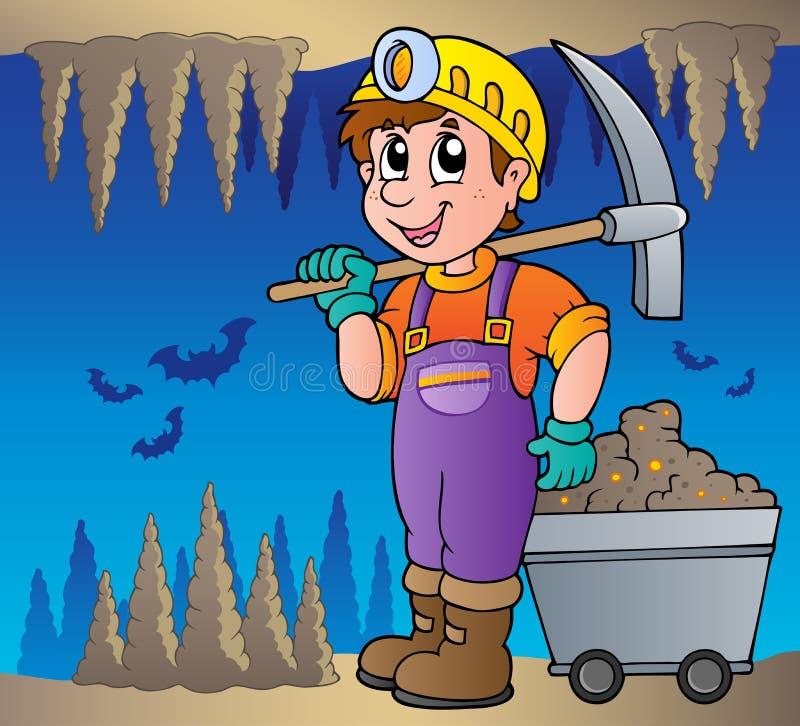 Download Mine theme image 1 stock vector. Illustration of cartoon - 24861087