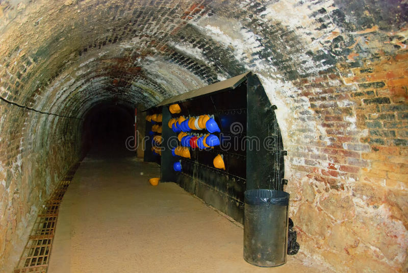 Mine tunnel royalty free stock image