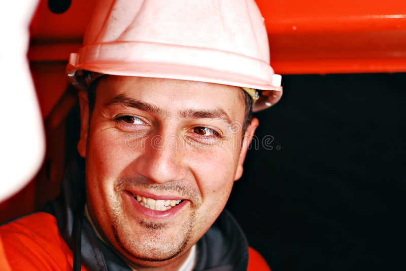 Download Mine worker stock image. Image of charming, labour, light - 3819047