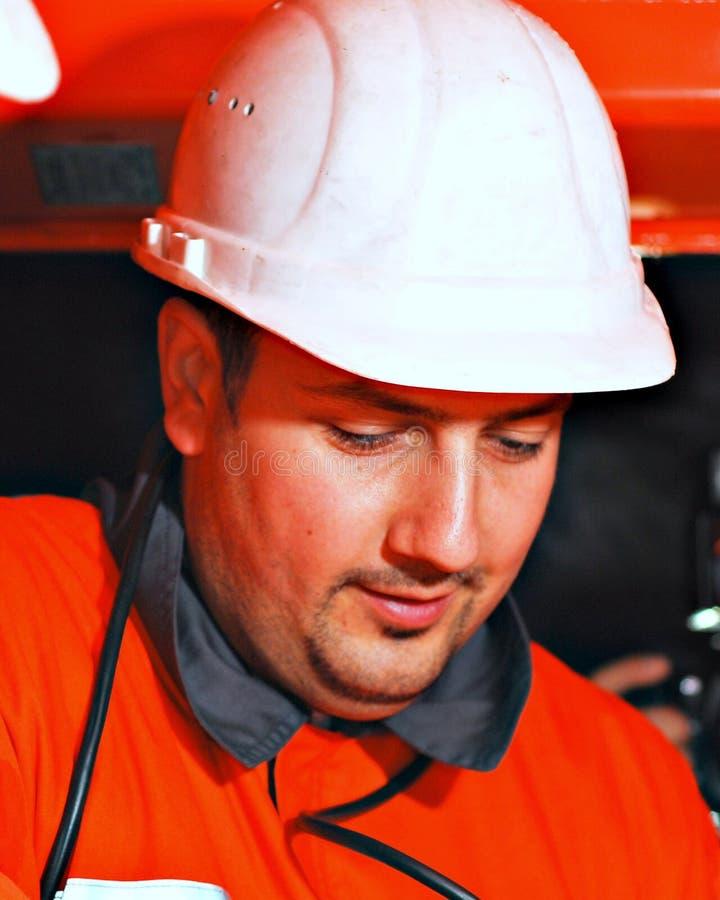 Mine worker stock photos